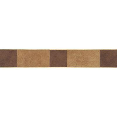 Daltile Veranda Solids Deco E Border (coordinates With Rawhide And Gold) Brown P514320DECOE1P