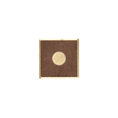 Daltile Veranda Solids Deco E Corner Brown P51433DECOE1P