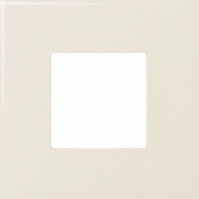 Daltile Fashion Accents 135 Almond Square Insert 4 1/4″ x 4 1/4″ FA5213544SQ1P
