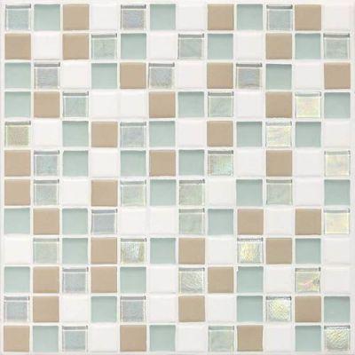 Daltile Coastal Keystones Trade Wind Blend 1 x 1 Mosaic CK8611PM1P