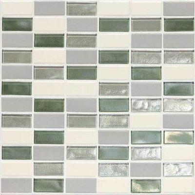 Daltile Coastal Keystones Caribbean Palm 2 x 1 StraightJoint Mosaic CK8721PM1P