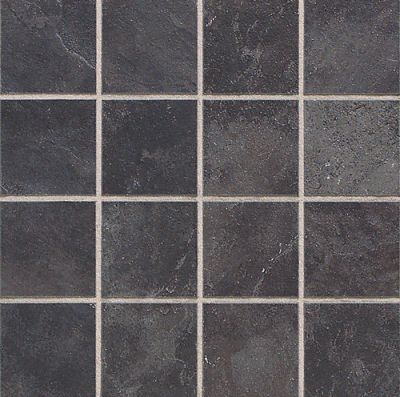 Daltile Continental Slate Asian Black  Mosaic Gray/Black CS5333MS1P
