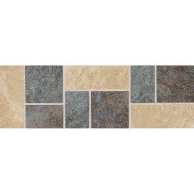 Daltile Continental Slate Decorative Accent Brown CS75412DECO1P2