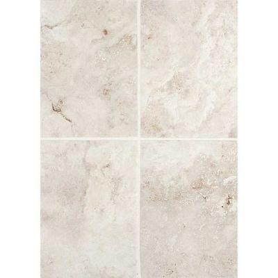 Daltile Esta Villa Garden White 10 X 14 Wall Tile White/Cream EV9710141P2