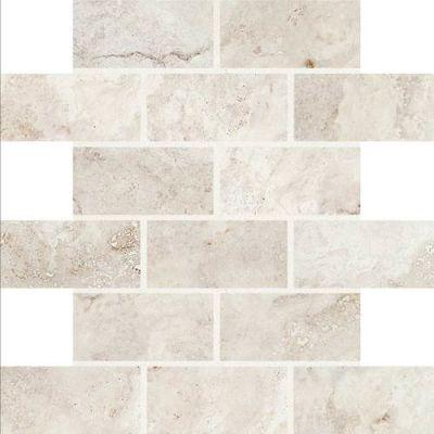 Daltile Esta Villa Garden White 2 x 4 Mosaic EV9724BJMS1P2