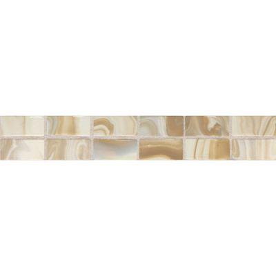 Daltile Fashion Accents Gold Swirl 2 x 12 Convex Accent F003212DECO1P
