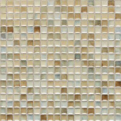 Daltile Fashion Accents Illumini Sand 5/8 X 5/8 Mosaic Beige/Taupe F0095858MS1P