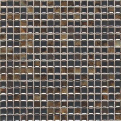 Daltile Fashion Accents Illumini Umber 5/8 X 5/8 Mosaic Brown F0125858MS1P