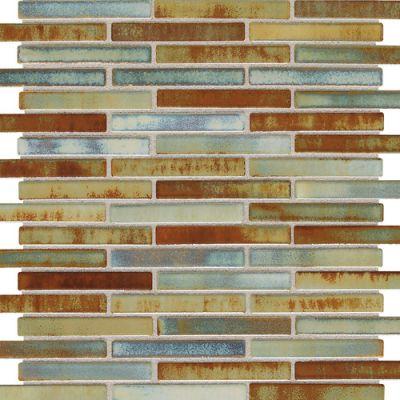 Daltile Fashion Accents Illumini Lake 5/8 x 3 Random Mosaic F015583MS1P
