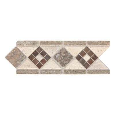 Daltile Fashion Accents Burnished Mix 4 x 11 Decorative Accent FA09411DECO1P