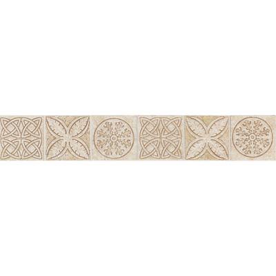 Daltile Fashion Accents Keltic Knots Sand 2 X 12 Accent Strip Beige/Taupe FA23212DECO1P