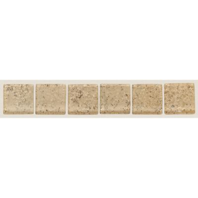 Daltile Fashion Accents Dimensions Sand 2 X 12 Accent Strip Beige/Taupe FA37212DECO1P