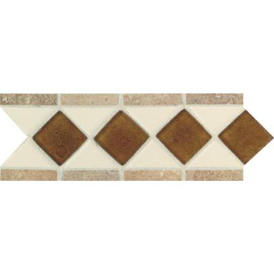 Daltile Fashion Accents 135 Almond/Reef/Noce 4 x 11 Listello FA5220411LST1P