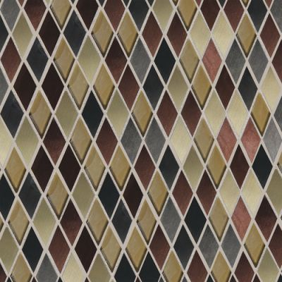 Daltile Fashion Accents Copper Blend 12 X 12 Sheet Harlequin Mosaic Copper FA6311HARMS1P