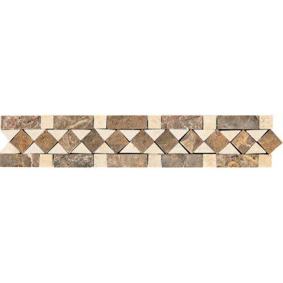 Daltile Fashion Accents Honed Diamond 2 x 12 Decorative Accent FA70212DECO1P