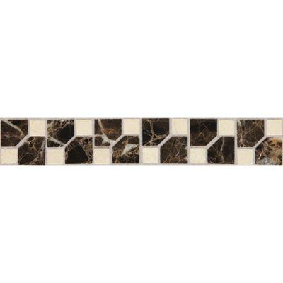 Daltile Fashion Accents Jewel Dark 2 x 12 Decorative Accent FA72212DECO1P
