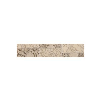 Daltile Fashion Accents Damask Mosaic 2 x 10 Decorative Accent FA7628DECO1P