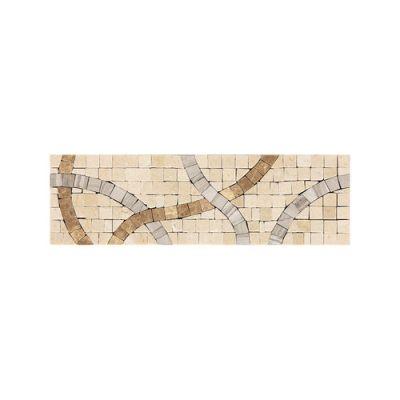 Daltile Fashion Accents Crossroads Beige 3 X 9 Decorative Accent Beige/Taupe FA8939DECO1P