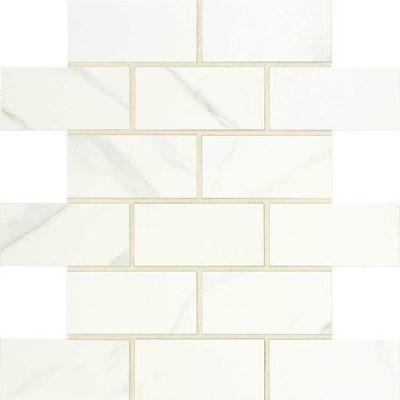 Daltile Florentine Carrara 2 x 4 Mosaic FL0624BJMS1P