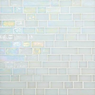 Daltile Glass Horizons Waves Random Linear Mosaic GH0134RANDPM1P