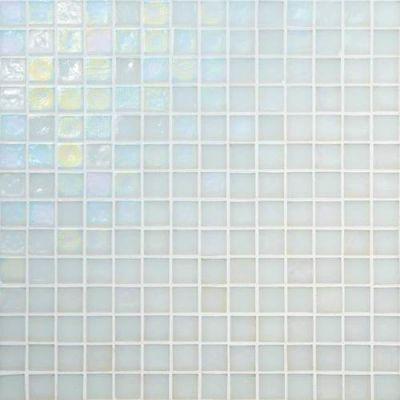 Daltile Glass Horizons Waves Mosaic White/Cream GH013434PM1P