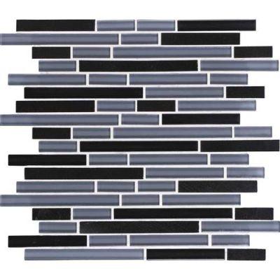 Daltile Granite Radiance Absolute Black Blend GR6158RANDMS1P