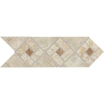 Daltile Heathland Sunrise White/Cream HL07412DECO1P2