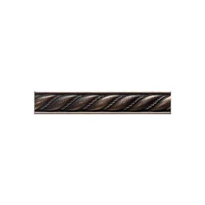 Daltile Ion Metals Antique Nickel Rope Liner 1 x 6 IM0216RP1P