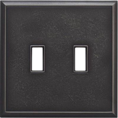 Daltile Ion Metals Antique Nickel Double Toggle IM02DT1P
