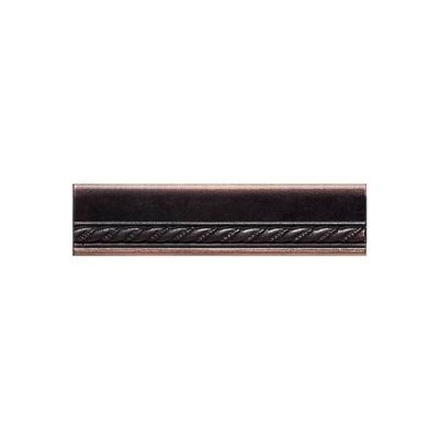 Daltile Ion Metals Oil Rubbed Bronze Chair Rail 1 1/2 x 6 IM03156CR1P