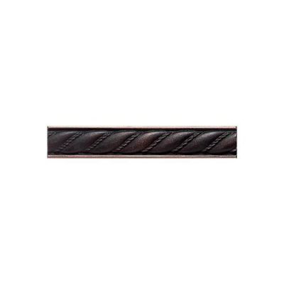 Daltile Ion Metals Oil Rubbed Bronze Rope Liner 1 x 6 IM0316RP1P