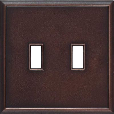 Daltile Ion Metals Oil Rubbed Bronze Double Toggle IM03DT1P