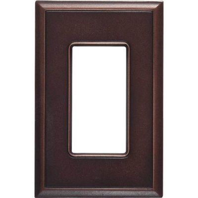 Daltile Ion Metals Oil Rubbed Bronze Single GFCI IM03SG1P