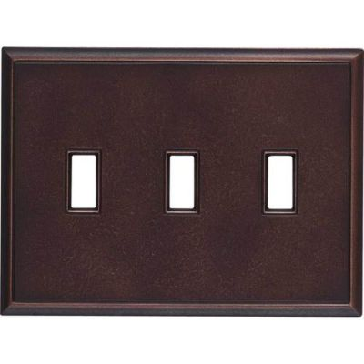 Daltile Ion Metals Oil Rubbed Bronze Triple Toggle IM03TT1P