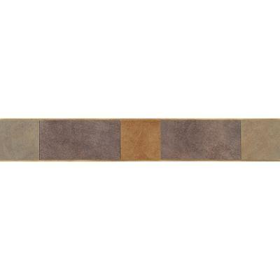 Daltile Veranda Solids Deco A Border (coordinates with Gravel, Zinc, and Rust) P510320DECOA1P