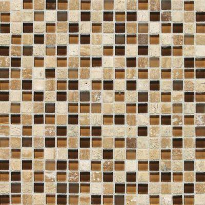 Daltile Stone Radiance Caramel Travertino Blend SA585858MS1P