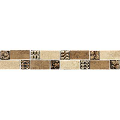 Daltile Travertine Collection Stonegate Border (Accent Polished) DA75212BR1L