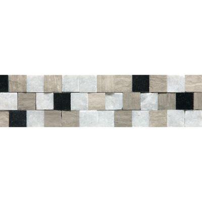 Daltile Marble Collection Adige Cool Blend Beige/Taupe DA80312BR1S