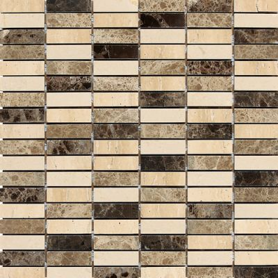Daltile Marble Collection Ticino (stackedjoint Polished) Beige/Taupe DA84122MS1L