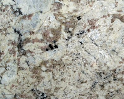 Daltile Granite  Natural Stone Slab White Spring G539SLAB3/41L