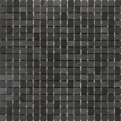 "Daltile Stone A"" La Mod Mosaic Polished Urban Bluestone Gray/Black L2221212MS1L"