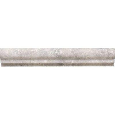 Daltile Limestone Collection Siberian Tundra 2 x 12 Chair Rail Honed L701212CR1U