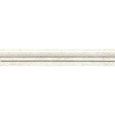Daltile Marble Collection White Cliffs Chair Rail White/Cream M105212CR1L