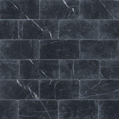 Daltile Marble Collection Nouveau Nero (Tumbled) M31236TS1P