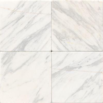 Daltile Marble Collection Contempo White (tumbled) White/Cream M31344TS1P