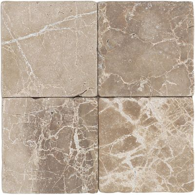 Daltile Marble Collection Emperador Light Classic (Tumbled) M71244TS1P