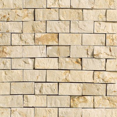Daltile Marble Collection Crema Marfil Classico (Split Face) M72212SF1S