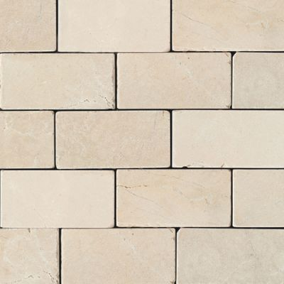 Daltile Marble Collection Crema Marfil Classico (Tumbled) M72236TS1P