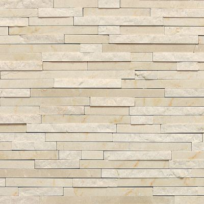 Daltile Marble Collection Crema Marfil Classico (3/8″ Random Polished, Honed, and Split Face) M72238RANDMS1P