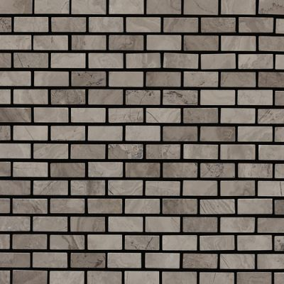 Daltile Marble Collection Silver Screen (Brickjoint Polished) M744121BJMS1L